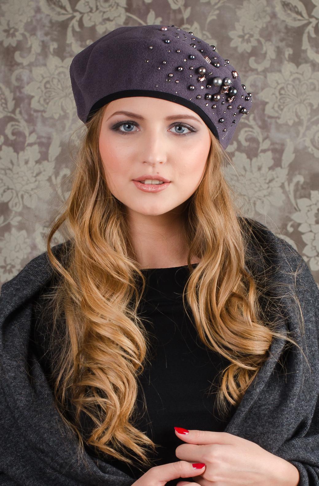 Модные головные уборы на осень